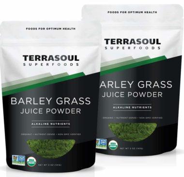 Terrasoul Superfoods Organic Barley Grass Juice Powders