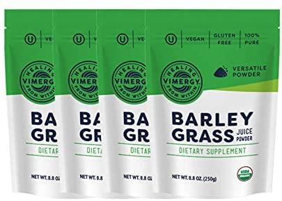 Vimergy Organic Barley Grass Juice Powders