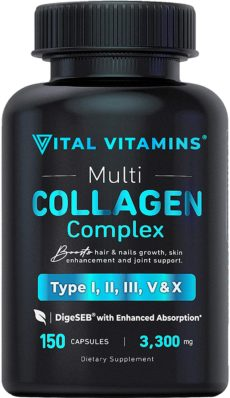 Vital Vitamins Protein Pills