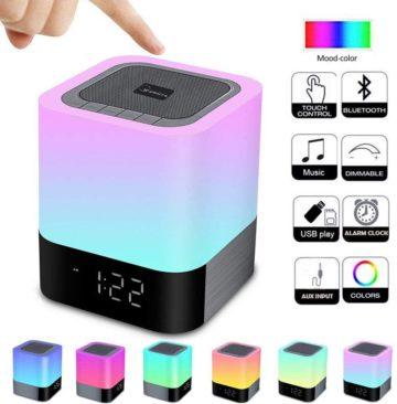 WamGra Bluetooth Alarm Clocks
