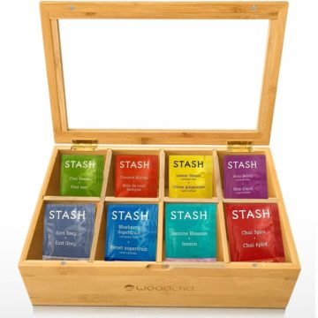 Woodcha Best Tea Bag Organizers