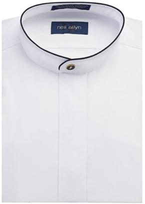 Neil Allyn Mandarin Collar Shirts