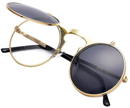 COASION Flip Up Sunglasses