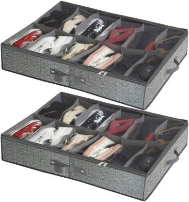 homyfort Under Bed Shoe Storages