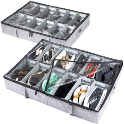 storageLAB Under Bed Shoe Storages