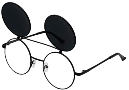 J&L Glasses Flip Up Sunglasses