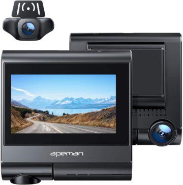 APEMAN Best Dash Cam for Truckers