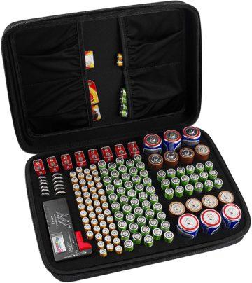 Comecase Battery Organizer Cases