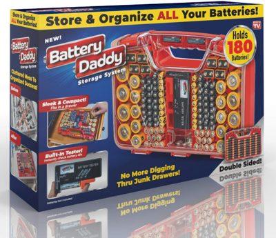 Ontel Battery Organizer Cases
