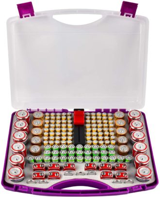 PAIYULE Battery Organizer Cases