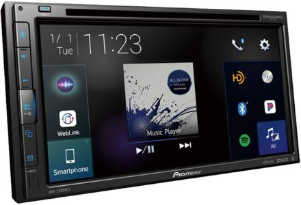 PIONEER Best Car Stereos with Bluetooth GPS and Backup Camera