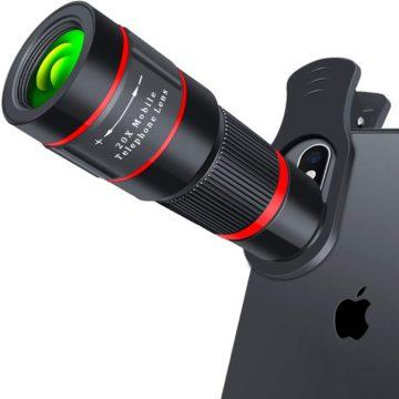 QinCoon Telescope Lens for Smartphones