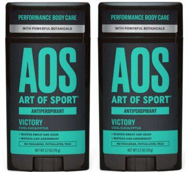 Art of Sport Best Men's Antiperspirants