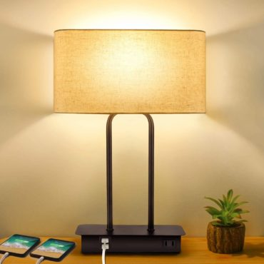 BesLowe Bedside Table Lamps