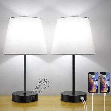 Bosceos Bedside Table Lamps