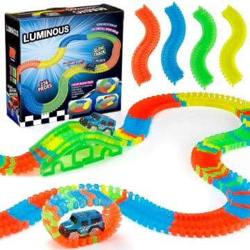 Funspread Best Race Car Track Toys