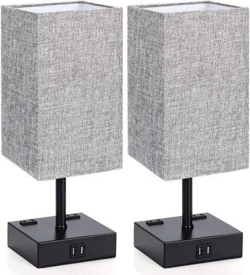 MAXvolador Bedside Table Lamps