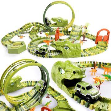 burgkidz Best Race Car Track Toys