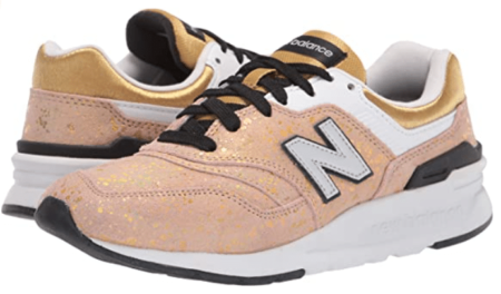 New Balance Gold Sneakers for Men and Women