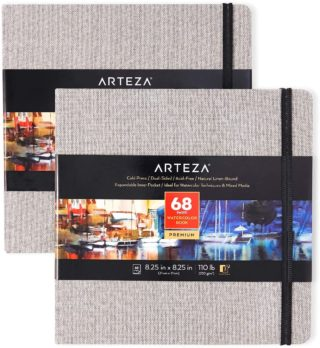 Arteza Watercolor Sketchbooks