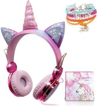 Unicorn Girl Headphones