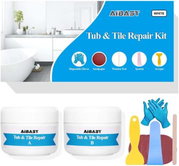 AiBast Fiberglass Tub Repair Kits