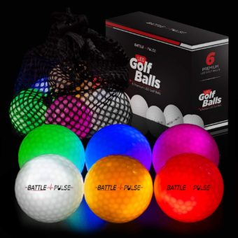 BattlePulse Glow of The Dark Golf Balls