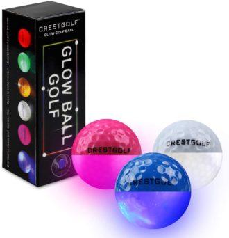 Crestgolf Glow of The Dark Golf Balls