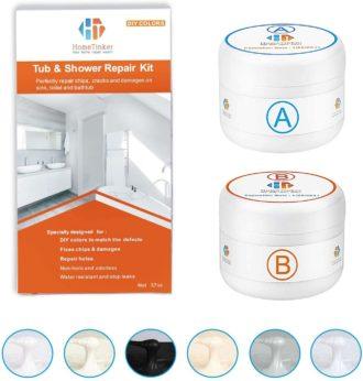 HT HOMETINKER Fiberglass Tub Repair Kits